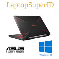 ASUS TUF FX504 I7 8GB 1TB 128GB GTX1050ti Win10