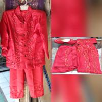 Beskap sunat anak baju sunat adat nusantara/betawi/sunda komplit
