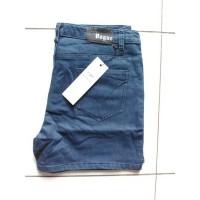 Celana Pendek Jeans Stretch Fashion Cewek Big Size