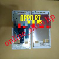 FRAME LCD TULANG BEZEL LCDTOUSCREN ORIGINAL OPPO r7 r 7 ori