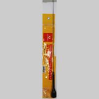 ANTENA RIG MOBIL BONGGOL HITAM FULL VHF PANJANG 50CM