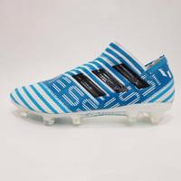 Sepatu Bola Premium Adidas Nemesiz 17+ Size 40 - 45 Blue White