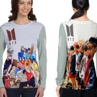 Kaos Baju Tshirt Lengan Panjang Custom K-Pop BTS Jungkook 07