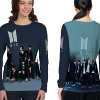 Kaos Baju Tshirt Lengan Panjang Custom K-Pop BTS Jungkook 12