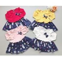 Produk Premium di Tokopedia babyfit PRINCESS BUNNY dress baju bayi ana