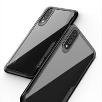 Ipaky Huawei P20 / P20 Pro - Clear Acrylic Armor Slim Case - Hitam, P20 Pro