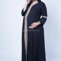 Baju Hamil Gamis Long Arabian Syari - GMS 248