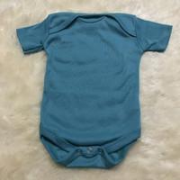 baju bayi jumper toska tua  aquamarine