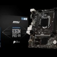 MSI B360M PRO-VH (B360, LGA 1151, DDR4) Support Coffelake
