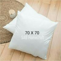 Isi bantal sofa/kursi/cushion 70x70