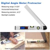 Digital Angle Level Ukur Sudut Waterpass Protractor Inclinometer Meter