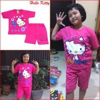 Setelan Anak Perempuan HELLO KITTY Baju Pakaian Lucu Imut Cute MARUNO