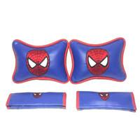 Spiderman bantal aksesoris mobil