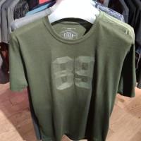 Kaos Eiger 89 Stitch T-Shirt Gren Hijau 910003982 Original Keren Cowok