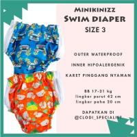Minikinizz Swim Diaper 17-21 Kg- Baju Celana Renang Anak Bayi