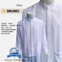 Terbaru Baju Koko Putih, Baku Koko Lengan Panjang S Brunei Hot List