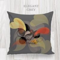 Bantal dekorasi / Kado lebaran - ELEGANT GREY