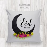 Bantal dekorasi / Kado lebaran - FLOWER-SMOKE