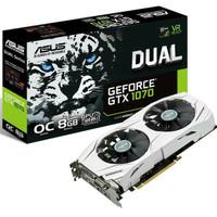 VGA ASUS GTX 1070 DUAL OC 8GB DDR5 256BIT WHITE...GARANSI RESMI ASUS