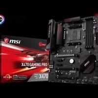 MSI X470 Gaming Pro (AMD X470, AM4, DDR4) Raven Ridge