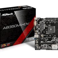 ASRock AB350M-HDV (AM4, AMD Promontory B350, DDR4, USB3.1, SATA3)