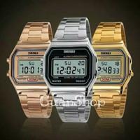 Jam Tangan Wanita / Cassio / SKMEI 1123 / Digital-Perak
