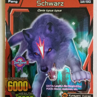 Strong Animal Kaiser S2 Schwartz (Super Rare)
