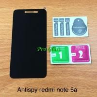 XIAOMI REDMI NOTE 5A Privacy Anti Spy Premium Tempered Glass