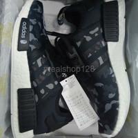 BIG SALE Terlaris SEPATU Adidas NMD R1 Mastermind X Bape Unauthorized
