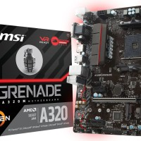 MSI A320M Grenade - Motherboard AM4 DDR4