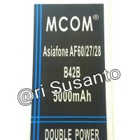 BATERAI M COM B42B ASIAFONE AF60 AF27 AF28 DOUBLE POWER 5000MAH
