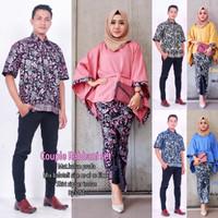 Couple rabbani set baju batik couple