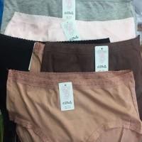 Celana Dalam Wanita Renda Big size Jumbo Qinliting L dan XL (12 pcs)