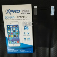 Anti Gores SPY Xiaomi Redmi Note 5A Prime Hitam Anti Privacy Black