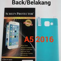 Anti Gores Belakang Back Clear Bening Samsung Galaxy A5 / A510 2016
