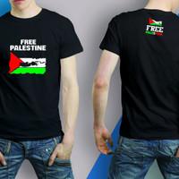 Kaos Free Palestin / Tshirt palestina / Baju oblong peduli Palestin