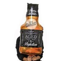 Balon Foil aged Happy Birthday /Gelas aged perfection / foil botol hbd