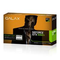 Galax Geforce GTX 1050 Ti EXOC (Extreme Overclock) 4 GB DDR5 Dual Fan