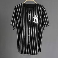 JERSEY BASEBALL - Baju Baseball / Baju hip-hop / NY list black