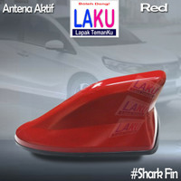 Toyota New Rush Antena Sirip Hiu Red Kualitas Oke