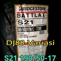 Ban battlax s21 190 50 17 belakang tubless ninja 250 er6 ninja
