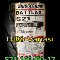 BAN battlax S21 160 60 17 belakang r15 ninja 250 cbr 150 r25 m