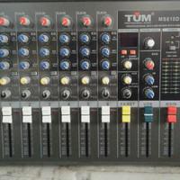 Power Mixer Audio 6 channel TUM MS-610D