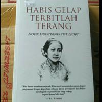 Buku Habis Gelap Terbitlah Terang - R A Kartini