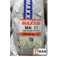 MAXXIS MA R1: 100/90-10 BAN TUBELESS VESPA CLASSIC LARGE FRAME