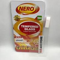 TEMPERED GLASS / ANTI GORES KACA IPHONE 5G / 5C / 5S NERO