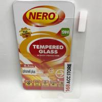 TEMPERED GLASS / ANTI GORES KACA IPHONE 6 PLUS / 6S PLUS NERO