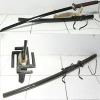 Pedang Samurai Katana Ichigo bankai Nazi Black