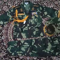 Setelan baju TNI angkatan darat anak / baju profesi / baju laki laki