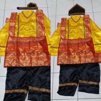 Pakaian baju adat aceh tari saman anak SMA-Dewasa Lk/Pr